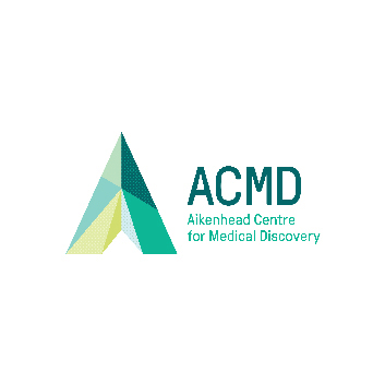 Logo for the Aikenhead Centre for Medical Discovery