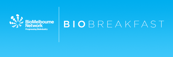 BioMelbourne Network BioBreakfast logo